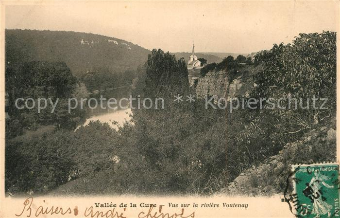 AK / Ansichtskarte Voutenay sur Cure Panorama Vallee de la Cure Voutenay sur Cure