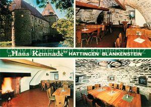 AK / Ansichtskarte Blankenstein_Ruhr Haus Kemnade  Blankenstein_Ruhr