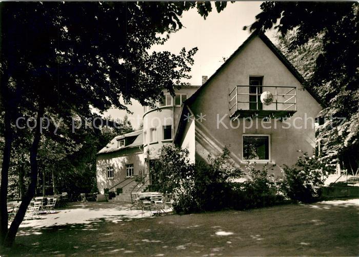 AK / Ansichtskarte Ober Ramstadt Naturfreundehaus Ober Ramstadt