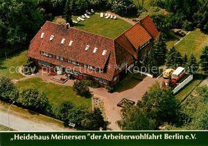 AK / Ansichtskarte Meinersen Heidehaus Meinersen Fliegeraufnahme Meinersen
