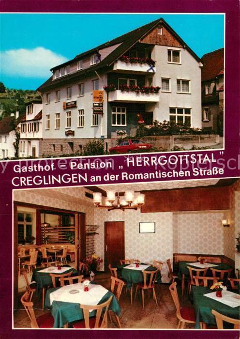 AK / Ansichtskarte Creglingen Gasthof Pension Herrgottstal  Creglingen
