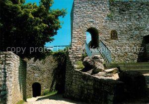 AK / Ansichtskarte Neuffen Burg Hohen Neuffen Neuffen