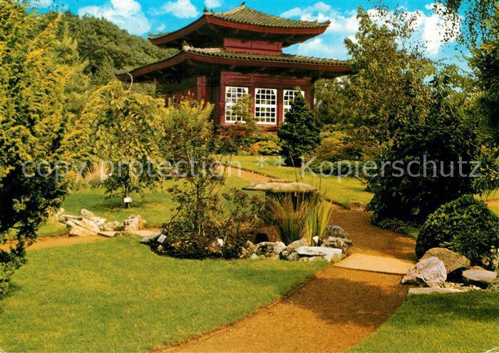 AK / Ansichtskarte Leverkusen Japanischer Garten Leverkusen