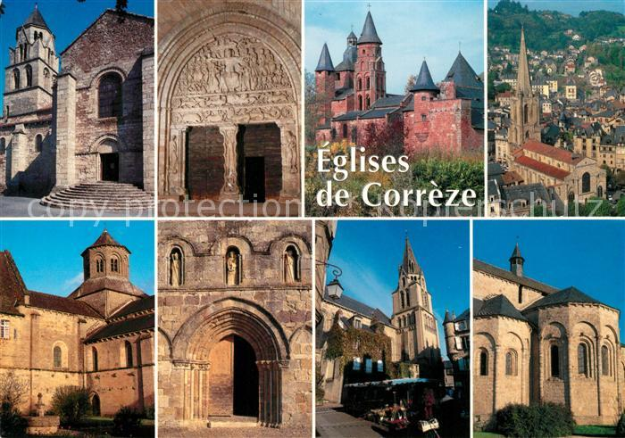AK / Ansichtskarte Correze Limousin Eglises de Correze Correze