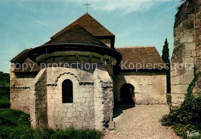 AK / Ansichtskarte Montoire sur le Loir La chapelle Saint Gilles Montoire sur le Loir