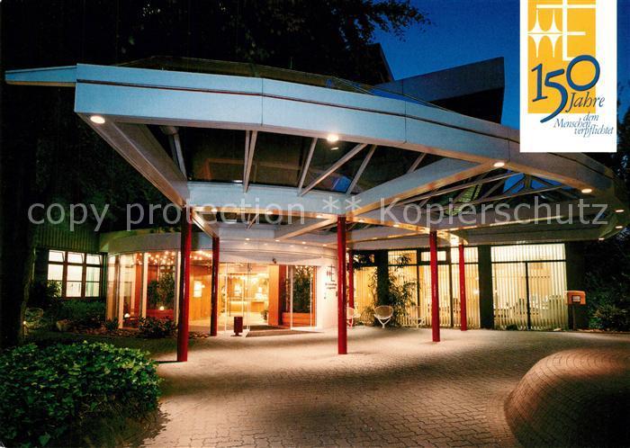 Ak Ansichtskarte Muelheimruhr Ev Krankenhaus Muelheim Ruhr Nr