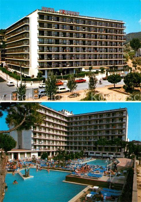 AK / Ansichtskarte Calella Hotel President Calella