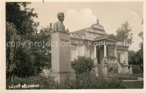 AK / Ansichtskarte Belohrad Lazne Bueste Denkmal Belohrad
