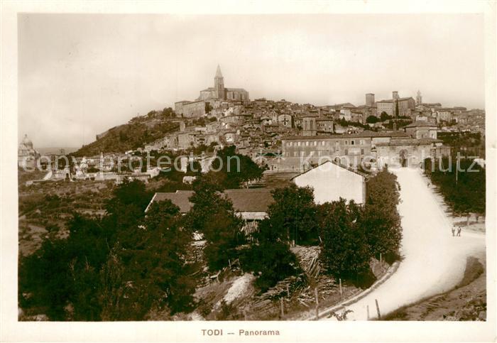 AK / Ansichtskarte Todi Panorama Todi