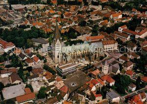 AK / Ansichtskarte Paderborn Fliegeraufnahme Dom Paderborn