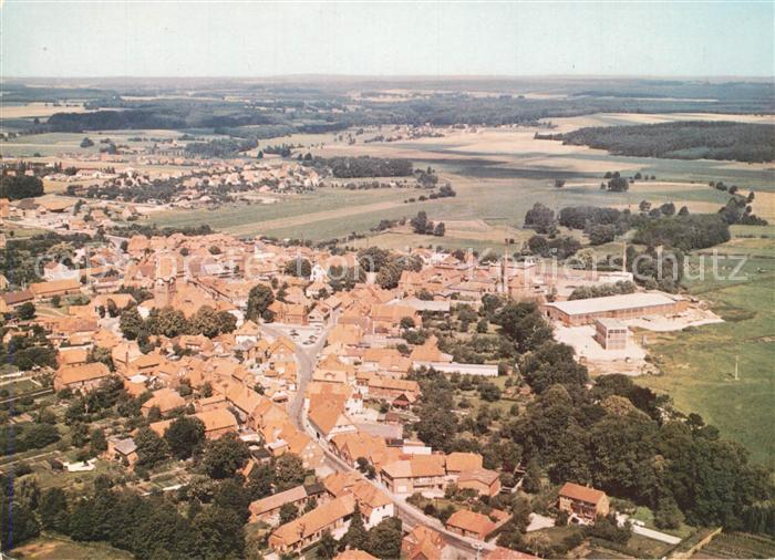 AK / Ansichtskarte Dahlenburg Fliegeraufnahme Dahlenburg