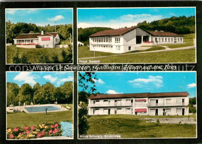 AK / Ansichtskarte Gailingen Kliniken Dr. Schmieder  Gailingen