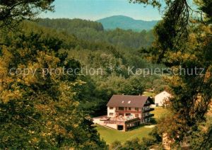 AK / Ansichtskarte Weigendorf_Oberpfalz Hotel Pension Haus Hubertus Weigendorf Oberpfalz
