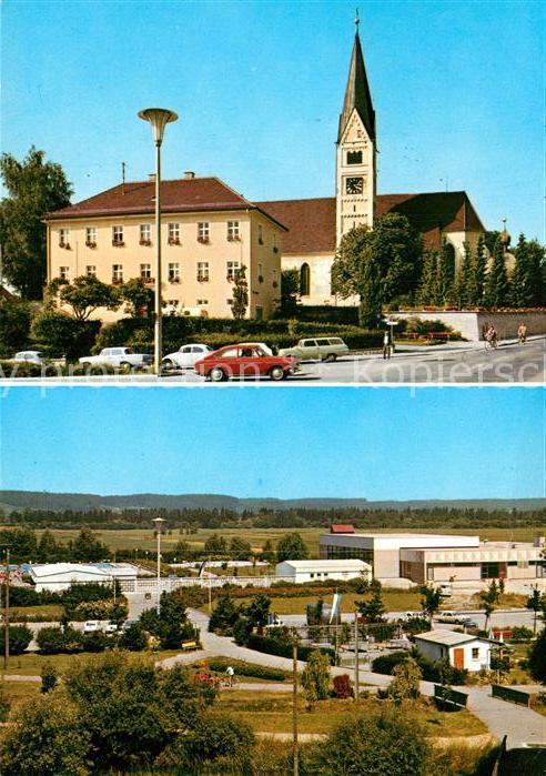 AK / Ansichtskarte Bobingen Kirchenpartie Bobingen