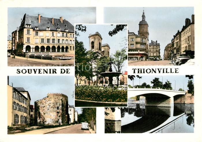 AK / Ansichtskarte Thionville Stadtansichten Thionville