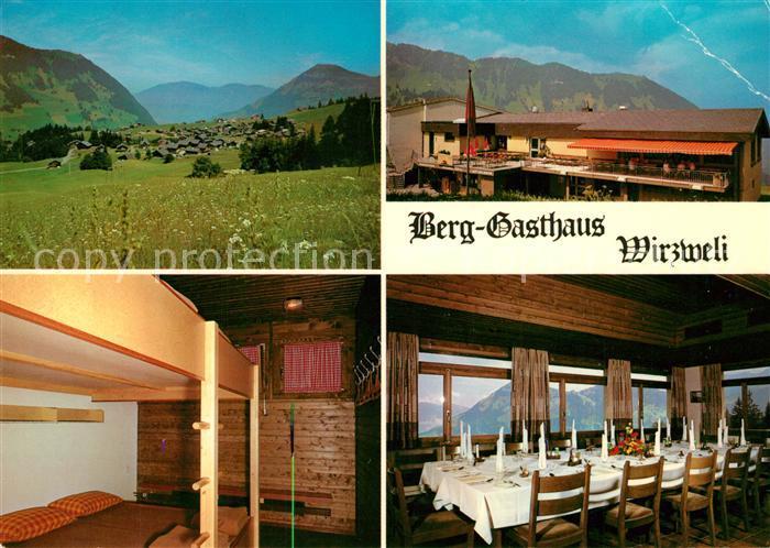 AK / Ansichtskarte Wiesenberg Berggasthaus Wirzweli Wiesenberg