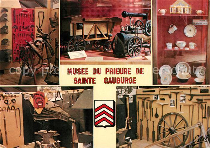 AK / Ansichtskarte Sainte Gauburge Sainte Colombe Museum du Prieure Sainte Gauburge Sainte Colombe