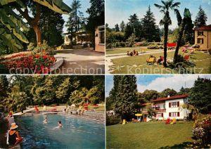 AK / Ansichtskarte Crocifisso Jugendferienheim Lugano Crocifisso