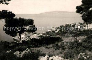 AK / Ansichtskarte Cap d_Ail et le Cap Ferrat vus d Azur Camping Home Cap d_Ail