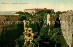 AK / Ansichtskarte Siracusa Latomia dei Cappuccini Siracusa