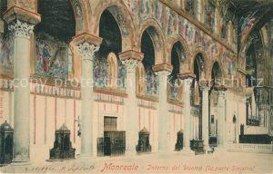 AK / Ansichtskarte Monreale Interno del Duomo Parte Sinistra Monreale