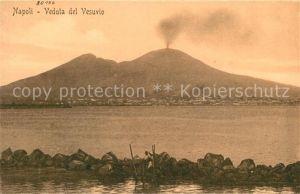 AK / Ansichtskarte Napoli_Neapel Veduta del Vesuvio Vulkan Vesuv Napoli Neapel