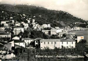 AK / Ansichtskarte Andora Villaggio Pineta Riviera dei fiori Andora