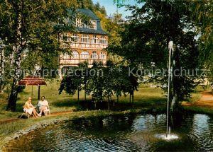 AK / Ansichtskarte Laasphe_Bad Hotel Fasanerie Laasphe_Bad