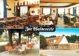 AK / Ansichtskarte Stadtlohn Ausflugslokal Zur Waldesecke Stadtlohn
