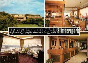 AK / Ansichtskarte Oer Erkenschwick Hotel Restaurant Cafe Stimbergpark Oer Erkenschwick