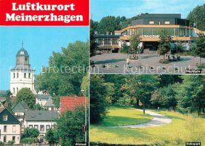AK / Ansichtskarte Meinerzhagen Altstadt Stadthalle Volkspark Meinerzhagen