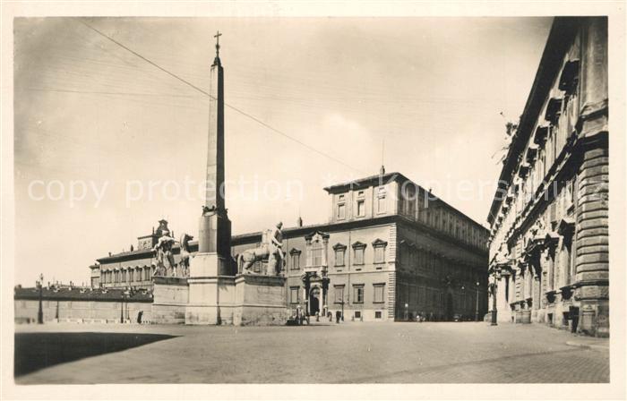 AK / Ansichtskarte Roma_Rom Palazzo del Quirinale Monumento Roma_Rom