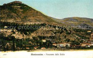 AK / Ansichtskarte Montecassino Panorama della Badia Montecassino