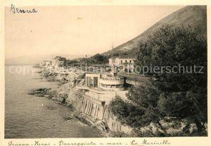 AK / Ansichtskarte Genova Nervi Passeggiata a mare La Marinella Genova Nervi