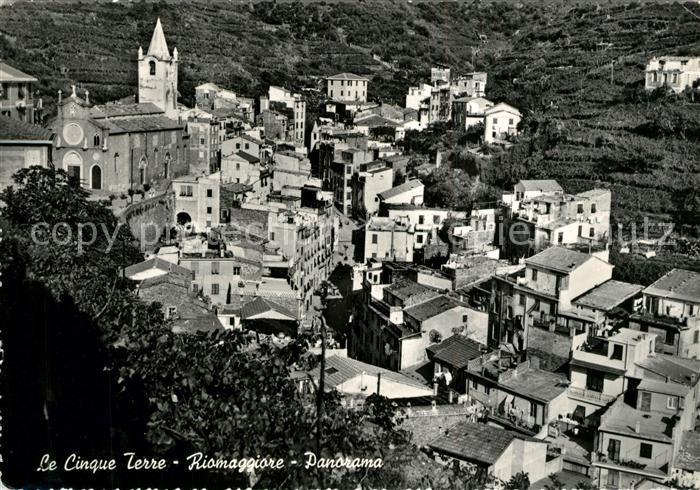 AK / Ansichtskarte Riomaggiore Les Cinq Terres Panorama Riomaggiore