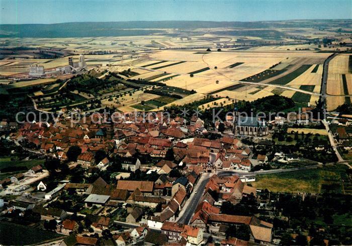 AK / Ansichtskarte Goellheim Fliegeraufnahme Goellheim