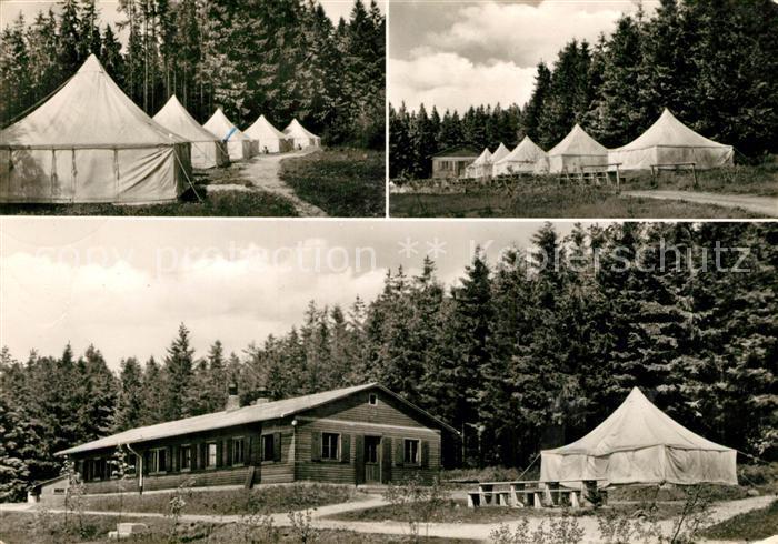 AK / Ansichtskarte Alsfeld Zeltlager  Alsfeld