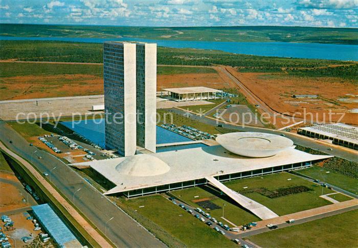 AK / Ansichtskarte Brasilia Congress Buildings Brasilia