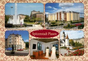 AK / Ansichtskarte Plauen_Vogtland Tunnel Anton Kraus Strasse Rathaus Plauen_Vogtland