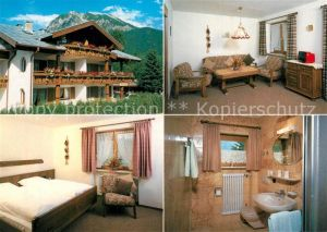 AK / Ansichtskarte Oberstdorf Ferienwohnung v. Hinrichs Oberstdorf