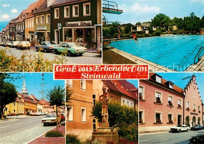 AK / Ansichtskarte Erbendorf im Steinwald Freibad Erbendorf