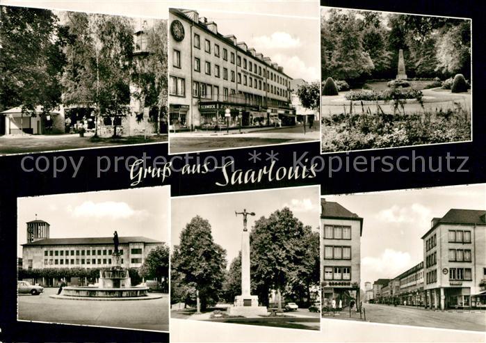 AK / Ansichtskarte Saarlouis  Saarlouis