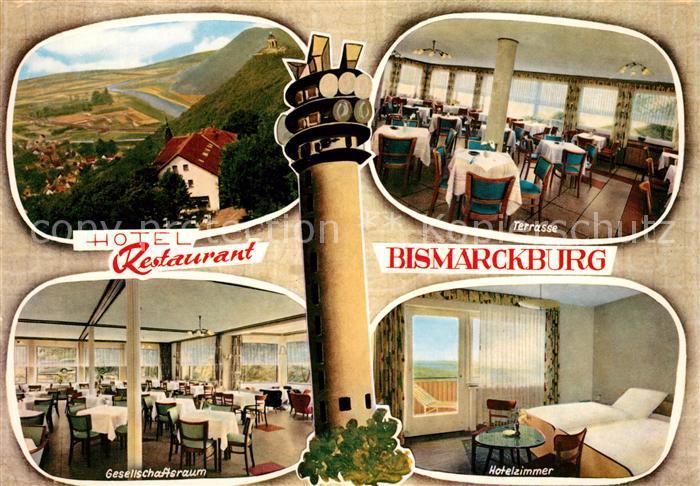 AK / Ansichtskarte Hausberge Hotel Restaurant Bismarckburg Hausberge