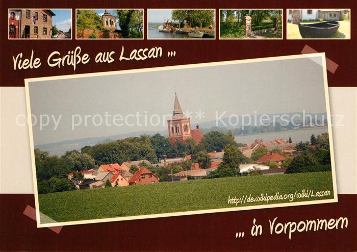 AK / Ansichtskarte Lassan Stadtansichten Lassan