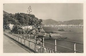 AK / Ansichtskarte Genova Nervi Passeggiata sul mare Genova Nervi