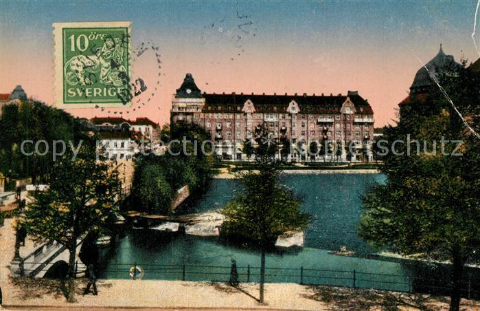 AK / Ansichtskarte oerebro Centralpalatset oerebro