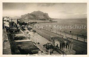 AK / Ansichtskarte Palermo_Sicilia Foro Umberto I e Monte Pellegrino Palermo_Sicilia