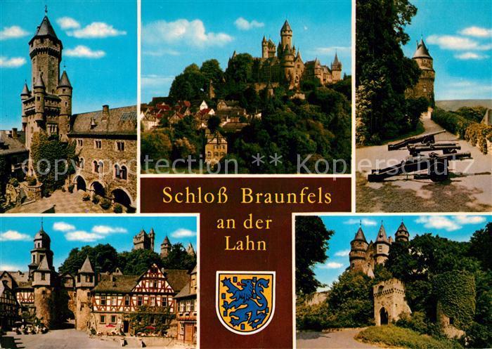 AK / Ansichtskarte Braunfels Schloss Braunfels  Braunfels