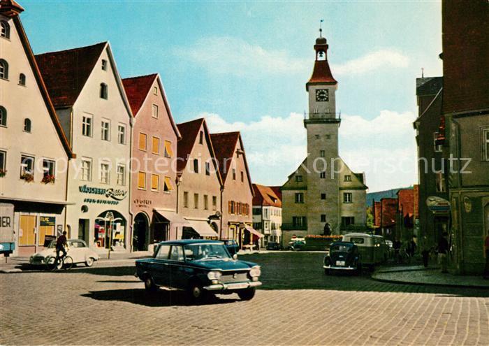 AK / Ansichtskarte Hersbruck Marktplatz Hersbruck