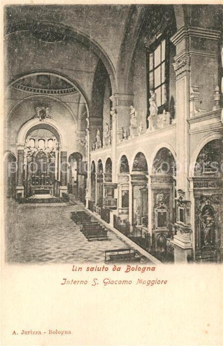 AK / Ansichtskarte Bologna Interno San Giacomo Maggiore Bologna Nr ...
